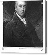Samuel Romilly (1757-1818) Acrylic Print
