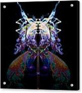 Samurai Bug Plant Acrylic Print