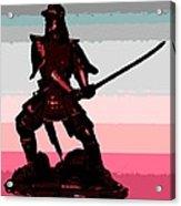 Samurai Sunrise Acrylic Print