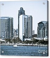 San Diego Downtown Waterfront Buildings Acrylic Print