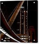 San Diego Lights At Night Acrylic Print