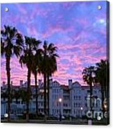 San Diego Sunset Acrylic Print