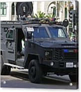 San Diego Swat Acrylic Print