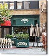 San Francisco - Maiden Lane - Mocca Cafe - 5d17788 Acrylic Print