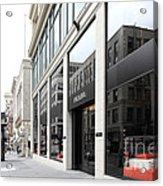 San Francisco - Maiden Lane - Prada Italian Fashion Store - 5d17800 Acrylic Print