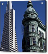 San Francisco Buildings Acrylic Print