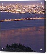 San Francisco Dusk Acrylic Print