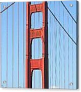San Francisco Golden Gate Bridge . 7d7804 Acrylic Print