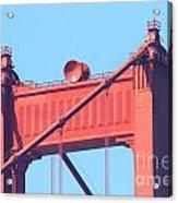 San Francisco Golden Gate Bridge . 7d7805 Acrylic Print