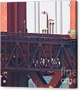 San Francisco Golden Gate Bridge . 7d8115 Acrylic Print