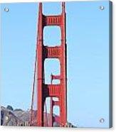 San Francisco Golden Gate Bridge . 7d8146 Acrylic Print