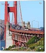 San Francisco Golden Gate Bridge . 7d8151 Acrylic Print