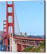 San Francisco Golden Gate Bridge . 7d8157 Acrylic Print