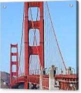 San Francisco Golden Gate Bridge . 7d8164 Acrylic Print
