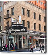 San Francisco Marquards Little Cigar Store On Powell Street - 5d17950 - Painterly Acrylic Print