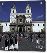 San Francisco Monastery Quito Ecuador Acrylic Print