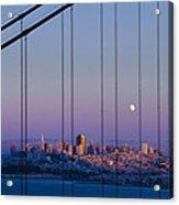San Francisco Moon Acrylic Print