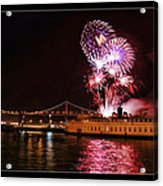 San Francisco New Years Eve Acrylic Print