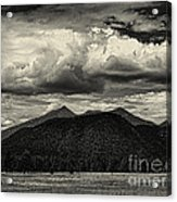 San Francisco Peaks In Black And White Acrylic Print