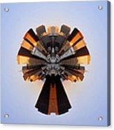 San Francisco Samourai - Stereographic Acrylic Print
