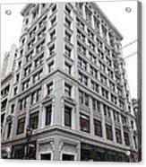 San Francisco Shreve And Company On Grant Street - 5d17918 Acrylic Print by Wingsdomain Art and Photography