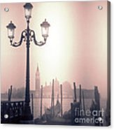 San Giorgio Maggiore Seen From Venice  Acrylic Print by Janeen Wassink Searles