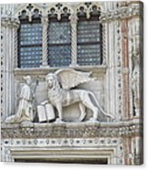 San Marco Bascilica Of Venice Acrylic Print