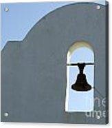 San Xavier Del Bac Bell Acrylic Print