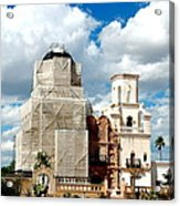 San Xavier Del Bac Mission Acrylic Print