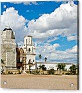 San Xavier Mission Tucson Az  Acrylic Print