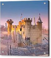 Sand Castle Acrylic Print