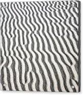 Sand Dune Pattern Acrylic Print