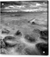 Sand Harbor, Lake Tahoe State Park Acrylic Print by David Kiene