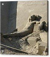 Sand Man Acrylic Print
