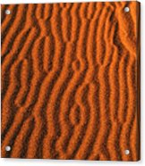Sand Maze Acrylic Print