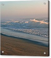 Sand Sea And Sky Acrylic Print