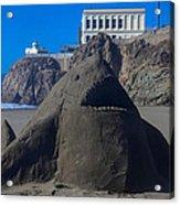 Sand Shark At Cliff House Acrylic Print