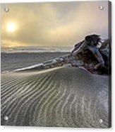 Sand Wrinkles Acrylic Print