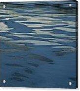 Sandbars Make A Pattern In A Body Acrylic Print