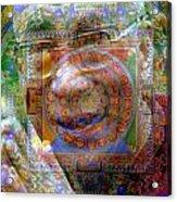 Sandmandalai Lama Acrylic Print