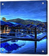 Sandpoint Marina And Power House 3 Acrylic Print