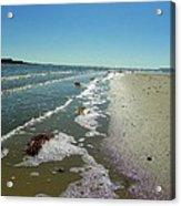 Sandsplit Beach Lowtide Acrylic Print
