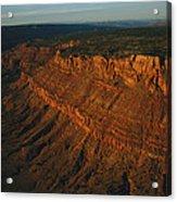 Sandstone-capped Escarpment Acrylic Print