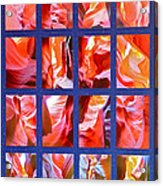 Sandstone Sunsongs Rockin Red Acrylic Print