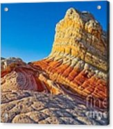 Sandstone Swirls Arizona Acrylic Print