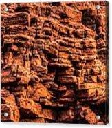 Sandstone Wall Acrylic Print
