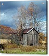 Sandwiched Shed Acrylic Print