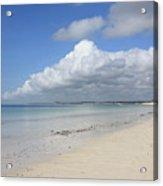 Sandy Beach, Watamu Acrylic Print