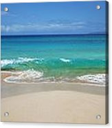 Sandy Makena Beach Acrylic Print