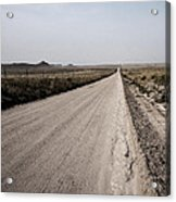 Sandy Road Acrylic Print